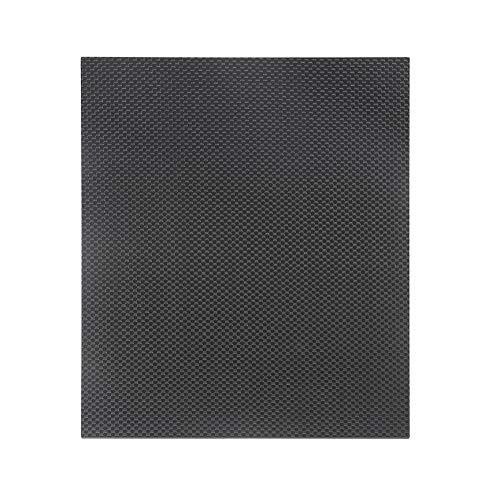 Peanutaod 230 * 170 * 3,0 mm Placa de placa de carbono completa 3 K Superficie de Brillo Suave y Lisa en Ambos lados Placa de avión RC para piezas de RC