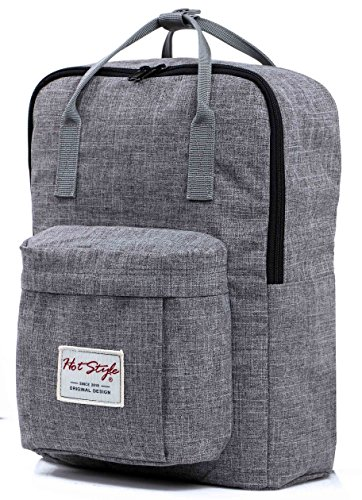 hotstyle-basic-classic-bestie-cute-diaper-bag-backpack-for-mom-18-liters-darkgrey