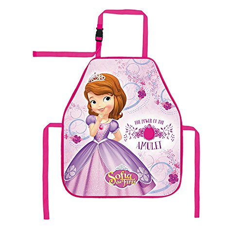 Kids disney sofia the first art vernice impermeabile grembiule 49 x 41 cm