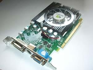Nvidia Geforce 8500GT (8500 GT) Grafikkarte mit 512MB DDR2 Speicher, Direct X 10