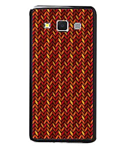 PrintVisa Designer Back Case Cover for Samsung Galaxy A3 (2015) :: Samsung Galaxy A3 Duos (2015) :: Samsung Galaxy A3 A300F A300Fu A300F/Ds A300G/Ds A300H/Ds A300M/Ds (Arrow Pattern In Red And Yellow)