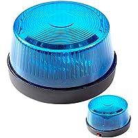 PARTY DISCOUNT® Blinkendes Warnlicht mit Sirene, blau