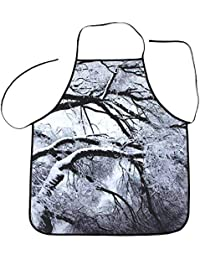 KaloryWee 2018 Sale Clearance Christmas Decoration Waterproof Apron Christmas Dinner Party Apron