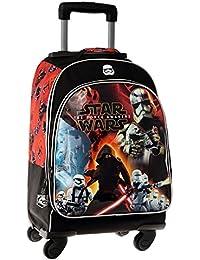 Disney Star Wars Battle Mochila Escolar, 29.57 Litros, Color Negro