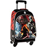 Disney Star Wars Battle Mochila Escolar, 29.57 Litros, Color Negro