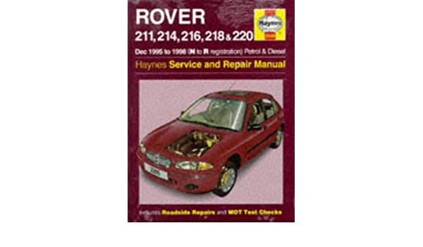 buy rover 200 series 95 98 service and repair manual haynes rh amazon in Haynes Manual GMC Jimmy 1995-2001 haynes rover 200 manual download