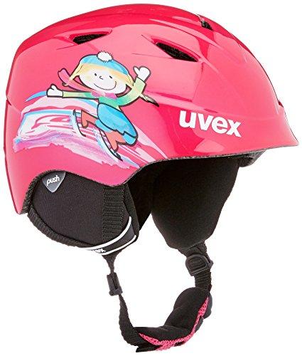 Uvex Kinder airwing 2 Skihelm, pink, 46-50 cm