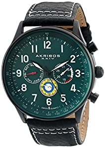 Akribos XXIV Reloj con movimiento cuarzo suizo Man 45 mm de Akribos XXIV