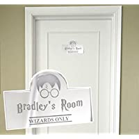 Personalised Door Name Plaque Boy or Girls Bedroom Room – acrylic kids door plaques Girls Boys Name Sign LIVING ROOM Door Sign Plaque Signage Personalised Home Decor for Children's Bedroom