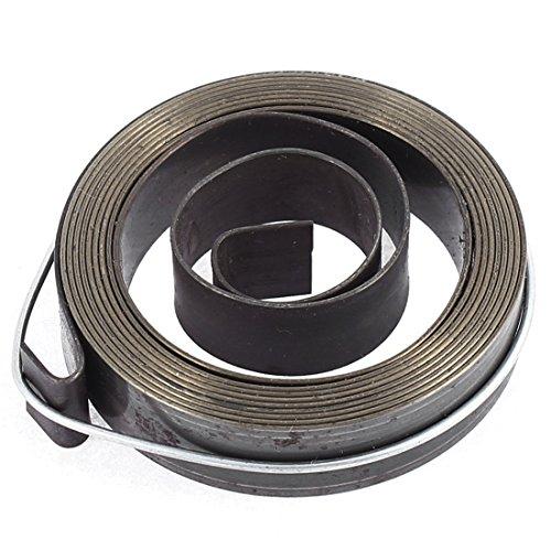 Larghezza 12 mm, in metallo, Recoil-Quill-molla di ritorno per trapano