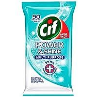 CIF Power & Shine Multi-Purpose Wipes (2 x 90-Wipe Pack)