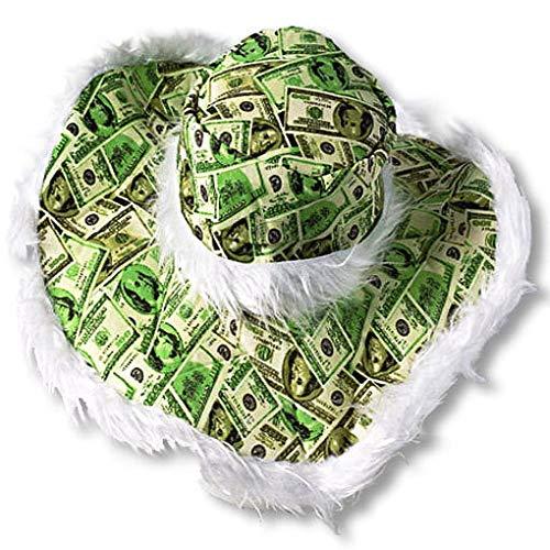 Horror-Shop Dollarnoten Hut für Fasching & ()
