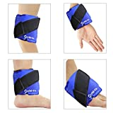 Best Rainbow ice pack - Ankle Wrist Ice Gel Pack Wrap for Ankle Review