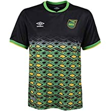 Umbro 2018-2019 Jamaica Away Football Soccer T-Shirt Camiseta (Kids)