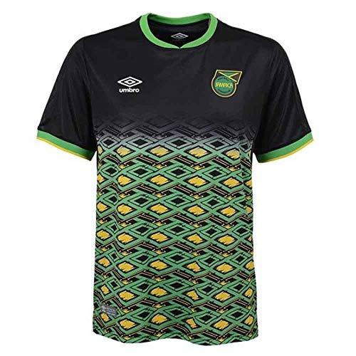 40400ac8d58 Umbro 2018-2019 Jamaica Away Football Soccer T-Shirt Camiseta (Kids)