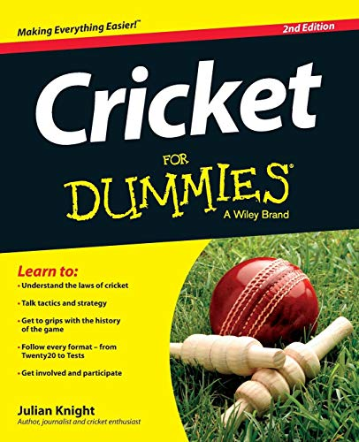 Photo Gallery cricket for dummies, 2nd edition