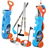 My Baby Excel Mattel Hot-Wheels Golf Set For Age 5 To 10 Years - Multi Color