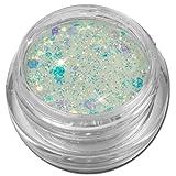 Glamour Mix Glitter Glitzer Puder Weiss Nailart