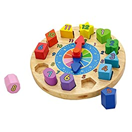 Viga Toys – Orologio puzzle