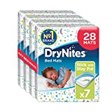 Huggies DryNites Bed Mats hochabsorbierende Betteinlagen, 4er Pack (4 x 7 Bettunterlagen) Test