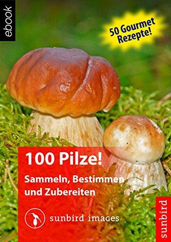 100 Pilze! Sammeln, Bestimmen und Zubereiten: Naturführer zum Identifizieren der 100 häufigsten Pilze Deutschlands, Österreichs und der Schweiz