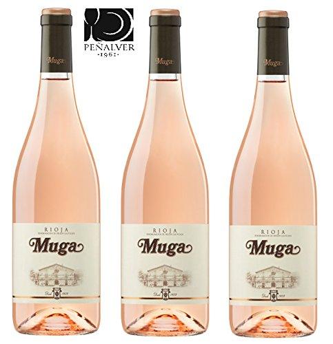 Muga Rosado 2017 Pack 3 Botellas 0,70 (3x0,70)