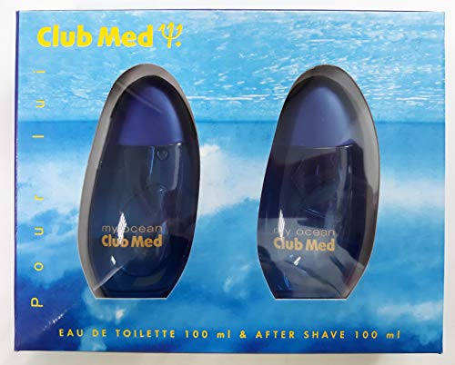 Club Med estuche edt masculino 100 ml + after shave