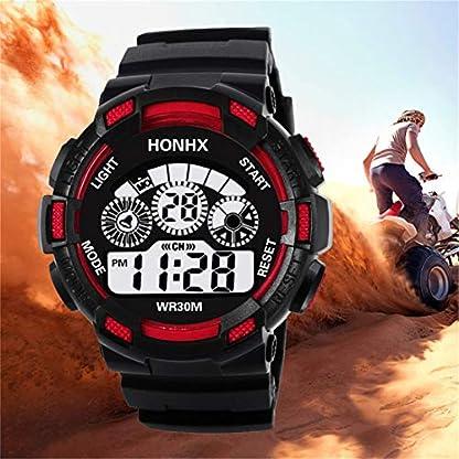 Godagoda-Herren-Armbanduhr-Creative-Sport-Design-Modern-Silikon-Armband-Elektronische-Uhr-fr-Freund