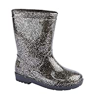 Carcassi Girls Glitter Wellies/Rain Boots