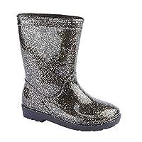 Carcassi Girls Glitter Wellies/Rain Boots