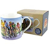 Quality CYCLING MUG CUP by Leonardo Fine China Gift Boxed Tour De France