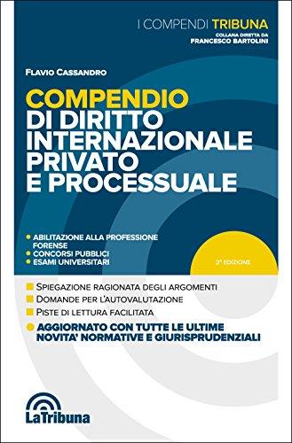 & Compendio di diritto internazionale privato e processuale PDF