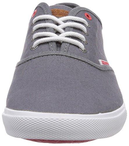 JACK & JONES JJSpider Basic Canvas Herren Sneaker Grau (Pewter) ...