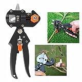 Gearmax® Jardinería frutero rama injerto para cortar tijeras de podar profesional con 2 cuchillas Extra y cinta injerto