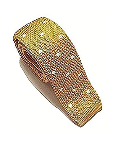 L&L® High Quality Men's Fashion Polka Dot Knit Knitted Tie