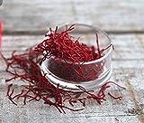 1g meilleur safran; Une sélection de safran de qualité royale de monde; 100% pur tous authentiques safran rouge
