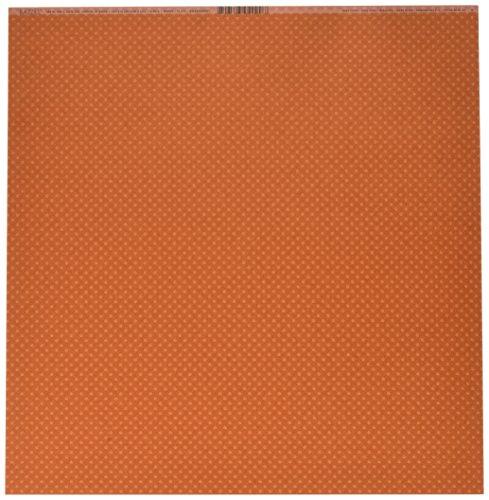 12-inch Terra Cotta (Bazzill BAZL-E-376 Bazzill Cardstock 12 in. x 12 in. - Terra Cotta-Dotted Swiss - Fall 25)