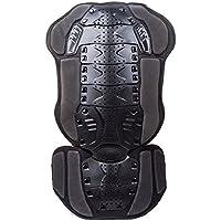 Suntime Protection de colonne vertébrale Armure dorsale pour Motocross Moto Vélo Body Guard de course pour le Ski/Snowboard patinage protection dorsale (Noir 2)