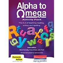 Alpha to Omega Activity Pack CD-ROM: The A-Z of Teaching Reading, Writing and Spelling