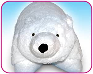 Polar Bear Huggle Buddy Toy Pet & Pillow all in One as seen on PITCH TV