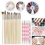 Best Ensembles d'art - ETEREAUTY Kit Nail Art Ensemble d'ongles Avec 5 Review