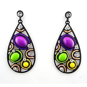 GOMO Vintage Drop Earrings Jewelry da KingofJewellry