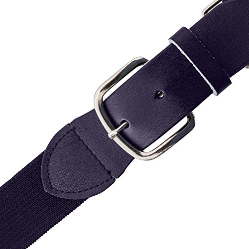Champion Sports Elastic Uniform Belt Purple Adult