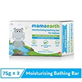 Mamaearth Moisturizing Baby Bathing Soap Bar pH 5.5 with Goat Milk and Oatmeal