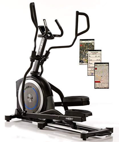 MAXXUS® Erwachsene CX 7.8 Crosstrainer, Schwarz, 1.89 x 1.02 x 1.675 mm