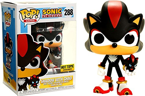 FunKo Pop ! 288 - Sonic The Hedgehog - Shadow with Chao - Exclusive