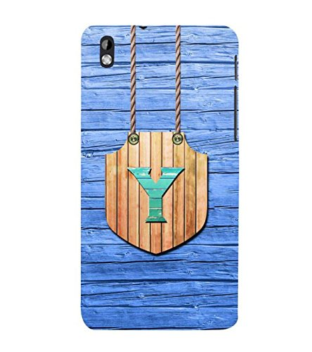 YuBingo HTC Desire 816 :: HTC Desire 816 Dual Sim :: HTC Desire 816G Dual Sim Designer Phone Back Case Cover ( Youthful Letter Y (Wood Finish Plastic) )  available at amazon for Rs.449