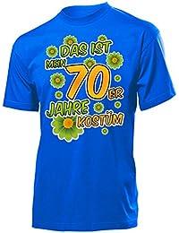 Karnevalskostüm - Faschingskostüm - Halloween - Das ist mein 70er Jahre kostüm T-Shirt Herren S-XXL - Deluxe