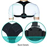 Posture Corrector Genkent Back Support Brace for Women and Men Upper Back Posture Correction Clavicle Support Easy Stress and Pain Relief