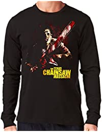 35mm - Camiseta Hombre Manga Larga - The Texas Chainsaw Massacre - La Matanza De Texas